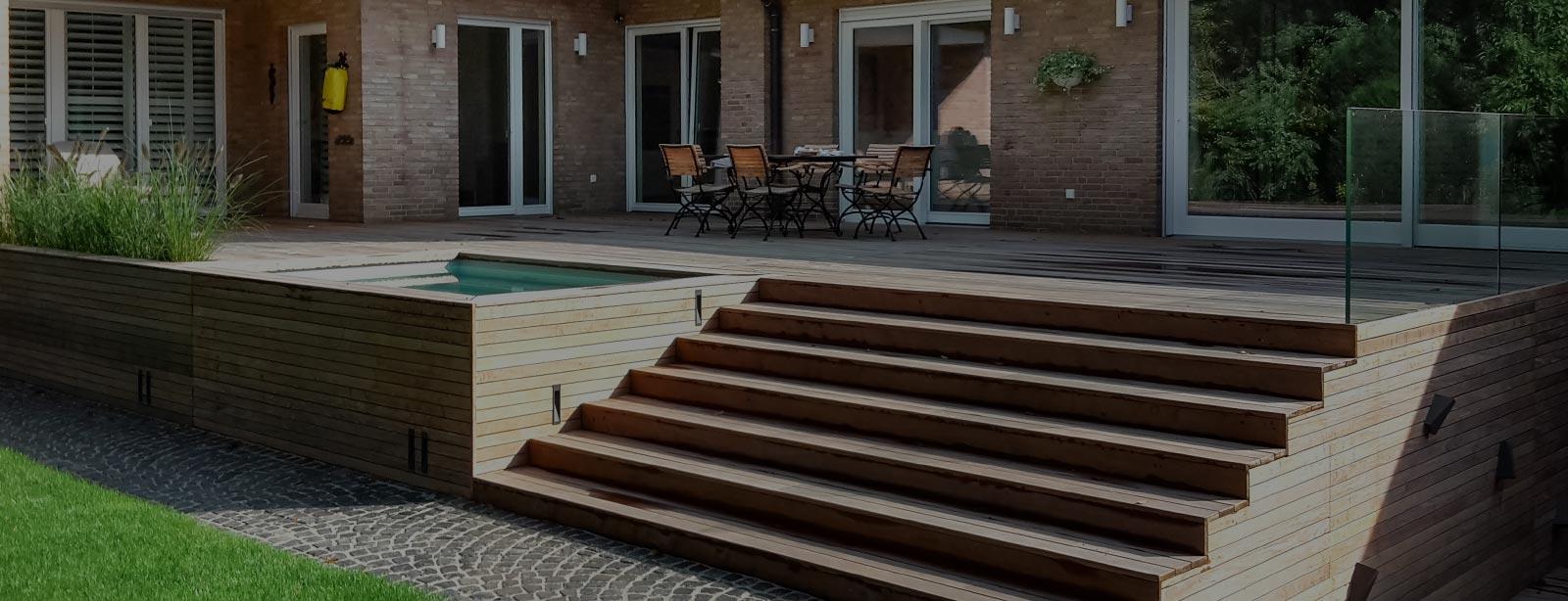 terrassen wellness holz vogel. Black Bedroom Furniture Sets. Home Design Ideas