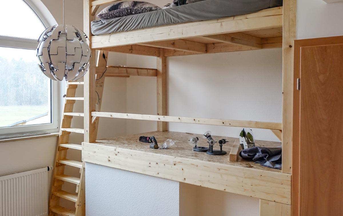 Kinderzimmer Holz